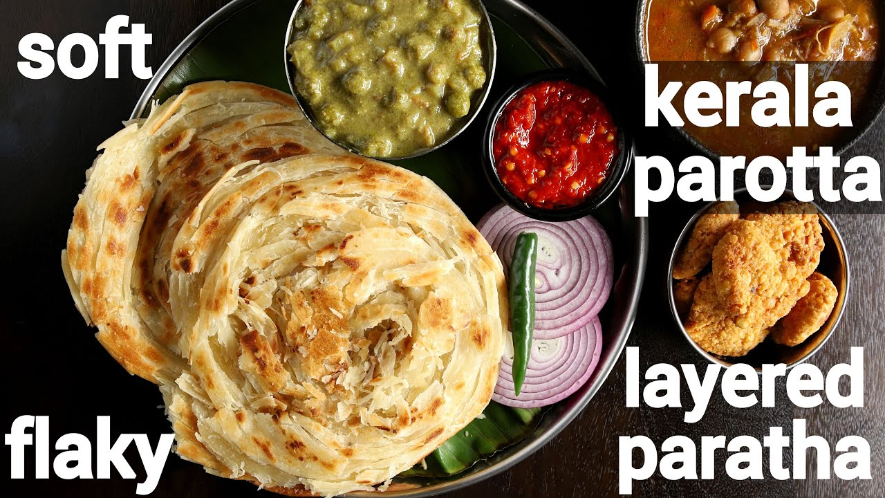 Download soft & flaky layered kerala parotta recipe no egg | കേരള പൊറോട്ട | malabar porotta recipe
