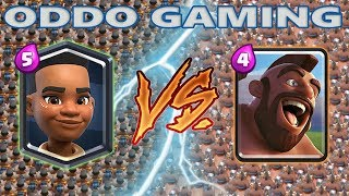 RAM RIDER VS HOG RIDER - CLASH ROYALE BATTLE #13