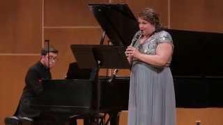 POULENC Sonata for Clarinet and Piano: 1. Allegro tristamente - Ellie Bond, clarinet