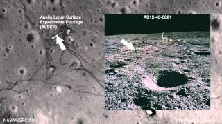 LROC Explores Apollo 12 Landing Site [1080p]