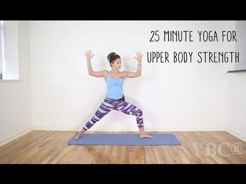 25 Minute Yoga for Upper Body Strength