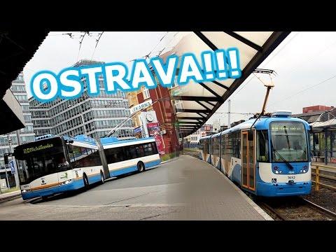Ostrava trams & trolleys / Tramwaje i trolejbusy w Ostrawie - CZ01