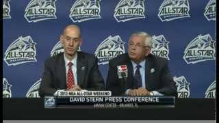 David Stern Avoidance to Chris Paul Veto Trade Question