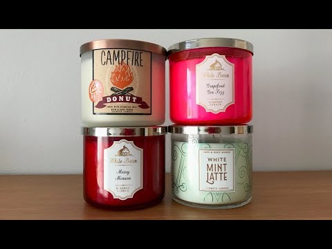 2017 Bath Amp Body Works Winter Test Candles Youtube