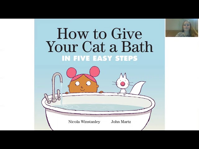 Story Time with Nicole!- How to Hove Your Cat a Bath