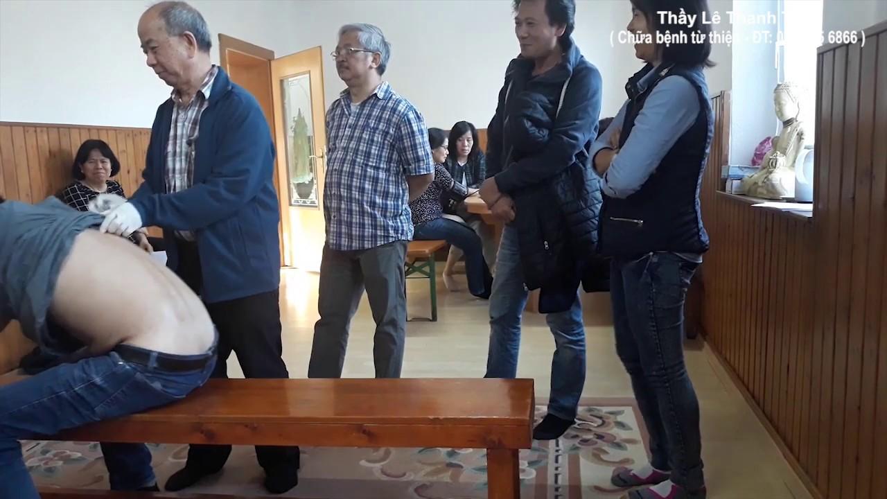 Bấm huyệt chữa đau thần kinh tọa – Thầy Lê Thanh Tùng