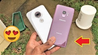 Motorola Moto G7 Vs Galaxy S9 Camera Test