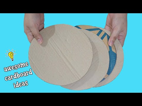 2 easy cardboard ideas | how to recycle cardboards at home