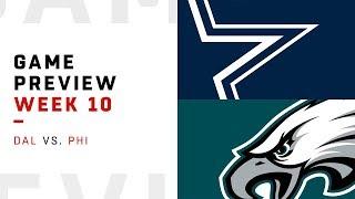 Dallas Cowboys vs. Philadelphia Eagles | Week 10 Game Preview | Move the Sticks