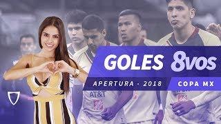Resumen Copa Mx Octavos de Final AP 2018