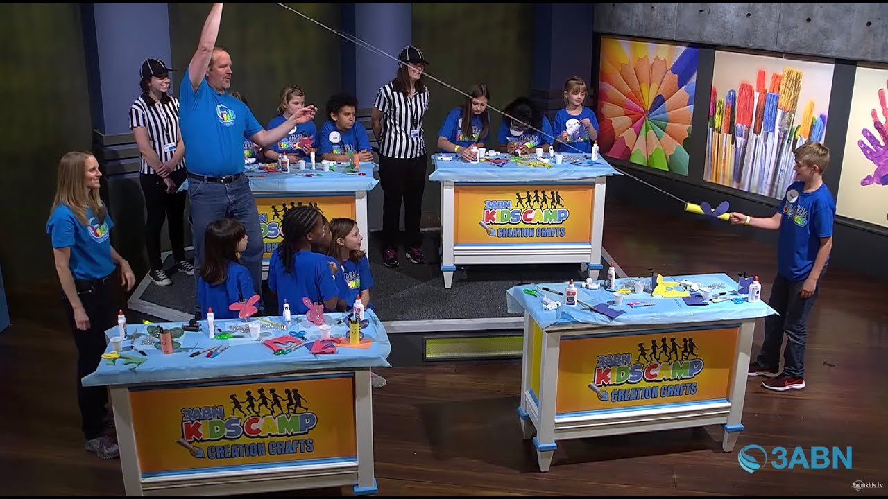 "04 - ""We are New Creations in Christ"" - 3ABN Kids Camp Creation Crafts"