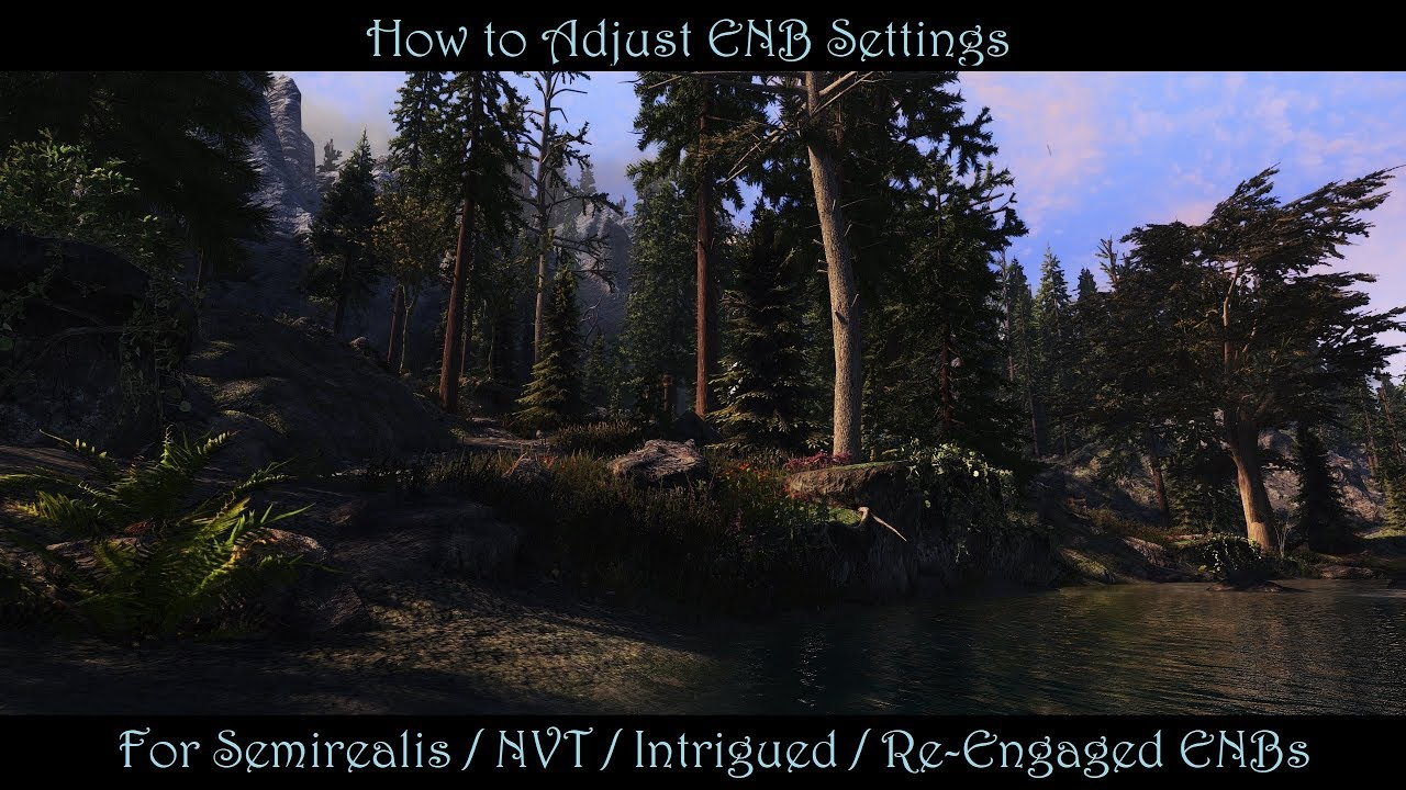 SkyrimSE Re-Engaged ENB at Skyrim Special Edition Nexus - Mods and