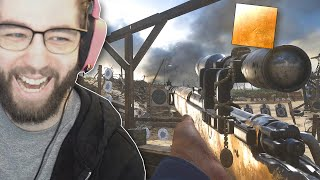 I UNLOCKED GOLD SNIPERS on COD WWII and it was actually fun