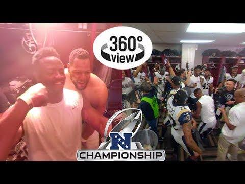 Rams vs. Saints NFC Championship All-Access in 360º   2018 NFL Playoffs