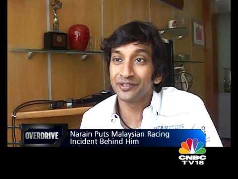 In conversation with Narain Karthikeyan - OVERDRIVE