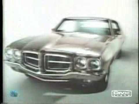 1971 Pontiac GT37  T37 & Firebird TV Commercial 71
