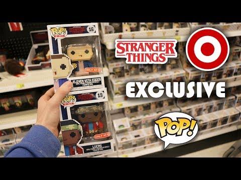 Stranger Things 8 Bit Pop Hunt!