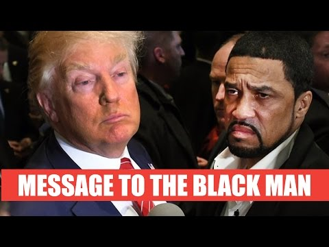 "Message To The Black Man: Breaking Down Donald Trump's ""New Deal"""