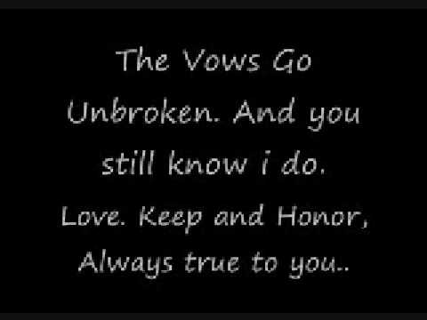 Kenny Rogers- The Vows Go Unbroken (Always True To You)- With Lyrics