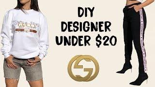 MAKING DESIGNER  CLOTHES! (under $20)