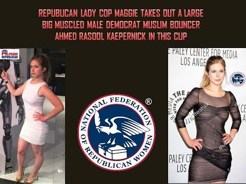 Republican Christian Supercop: Detective Maggie vs Democrat Thug!