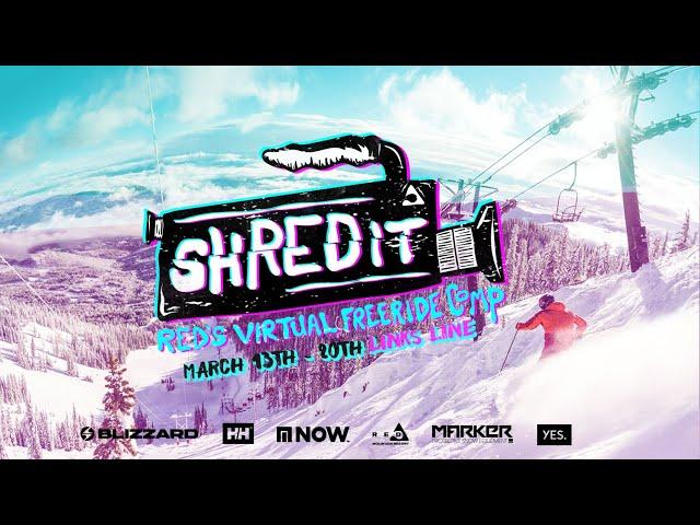 ShREDit: RED's Virtual Freeride Comp