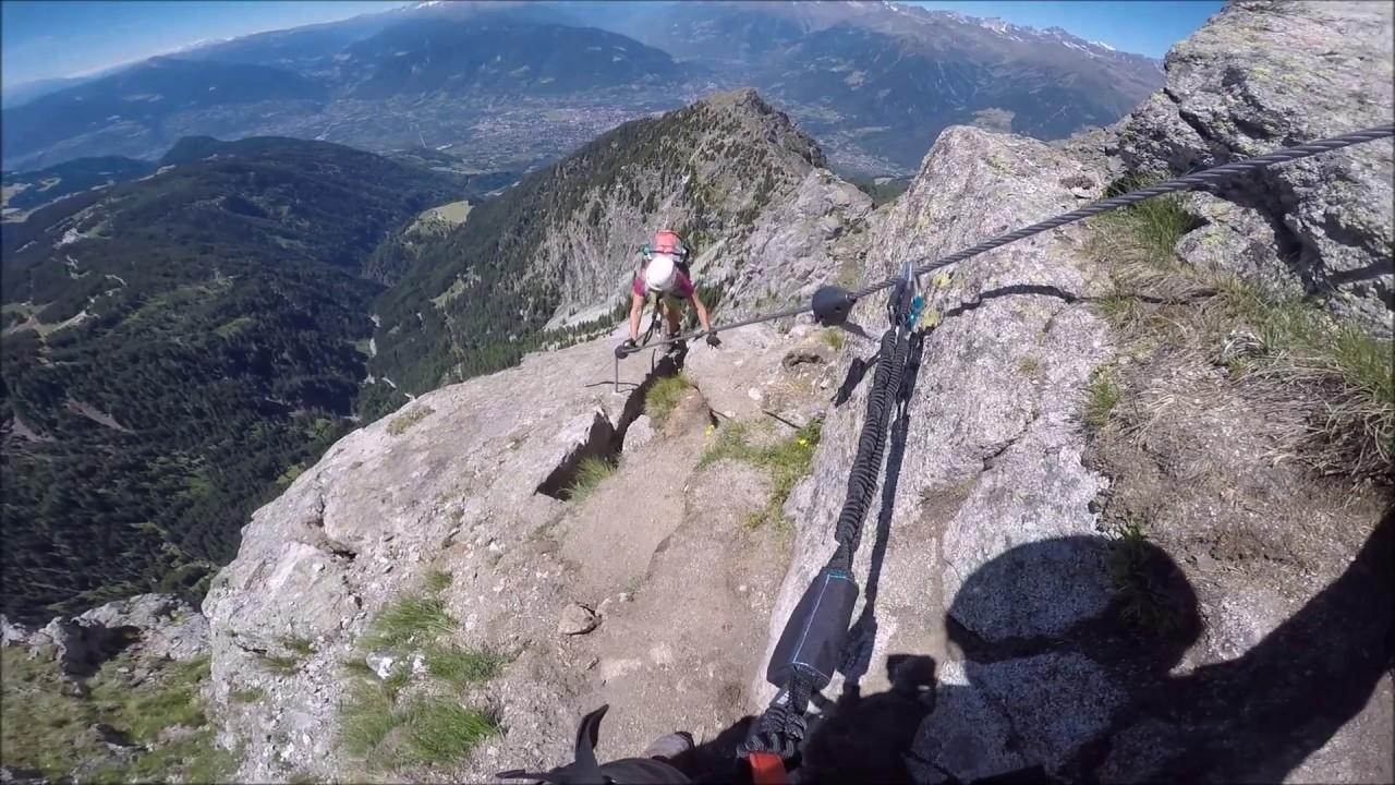Klettersteig Ifinger : Heini holzer klettersteig am ifinger bei meran italien