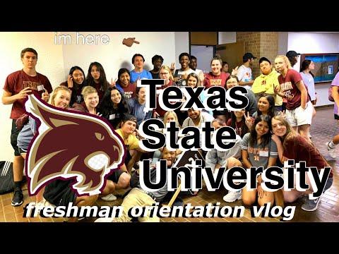 college orientation vlog
