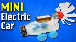 How To Make A Electric Car | Diy Electric Car Toy