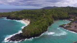 Bali Bias Tugel Beach 2016, Видео с квадрокоптера, остров Бали 2016(Pantai Bias Tugel Пляжи Бали - это всегда настоящий, могучий океан, волны и экзотика, но Биас Тегул заслуженно можно..., 2016-08-24T16:15:27.000Z)