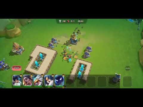 Castle Clash New Dawn : Setup Base Invasion 111+