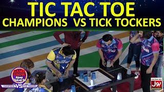 Tic Tac Toe | Game Show Aisay Chalay Ga League | TickTock Vs Champion