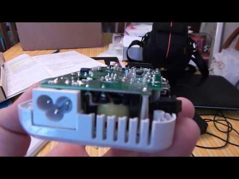 Bestek 200W power adapter & converter (inside)