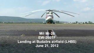 Самый большой вертолёт в мире | The Biggest Helicopter in the World Mil Mi-26(Ми-26 — советский тяжелый многоцелевой транспортный вертолёт. Является крупнейшим в мире серийно выпускаем..., 2016-02-02T18:35:20.000Z)