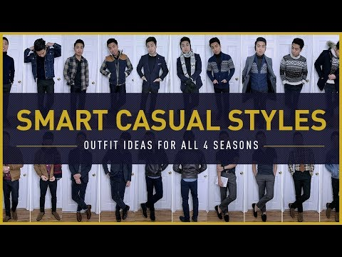 13 SMART CASUAL OUTFITS FOR MEN | How To Dress Stylish Year-Round