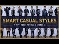 SMART CASUAL STYLE LOOKBOOK | 13 Men's Outfit Ideas For All 4 Seasons
