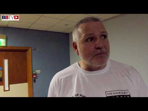 "PETER FURY: ""YOU WILL NOW SEE HUGHIE BANGING PEOPLE OUT"""