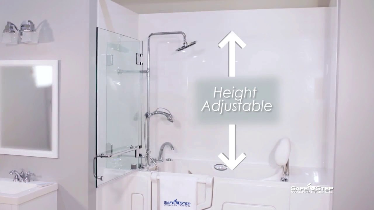 All New Shower Package by Safe Step walk in tubs   YouTube