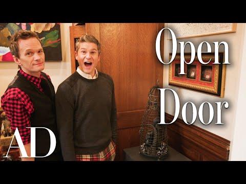 Inside Neil Patrick Harris's Captivating Brownstone Home | Open Door