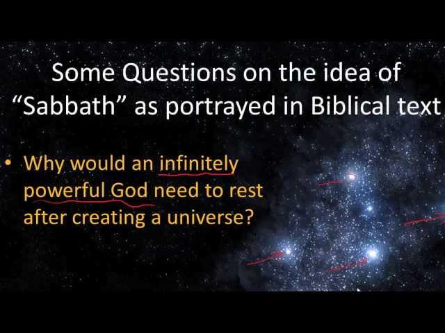Shabbat: Why Do We Rest?