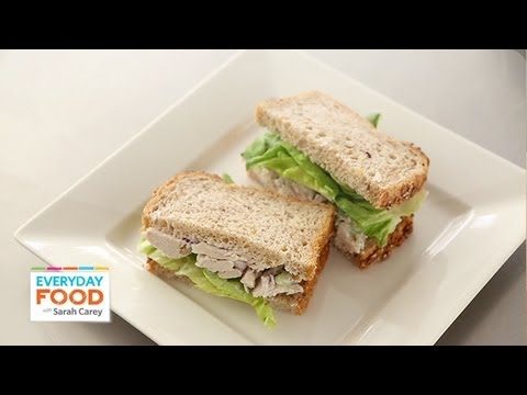 Poached-Chicken-Salad Sandwiches  | Everyday Food with Sarah Carey
