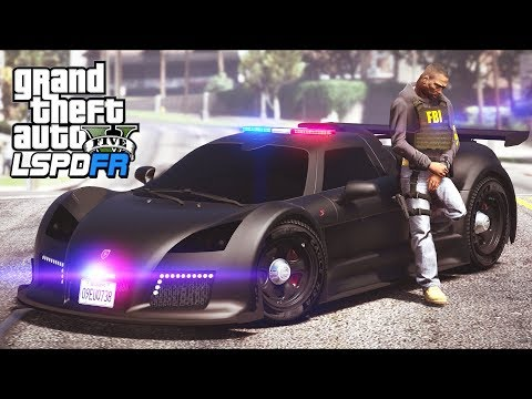 GTA 5 - LSPDFR Ep505 - One Fast FBI Unmarked Supercar!!