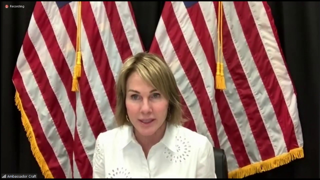 Foreign Press Center Briefing with Ambassador Craft.