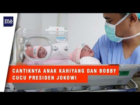 Cantiknya Cucu Presiden Jokowi, Anak dari Kahiyang dan Bobby