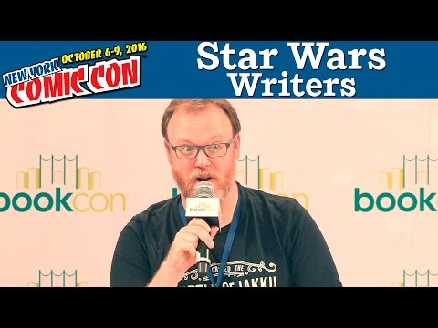 Star Wars Presents: A Writers Roundtable Panel | New York Comic Con 2016