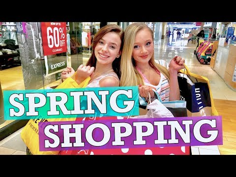 $1,000.00 Spring SHOPPING SPREE 2019 with Ella and CC