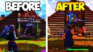 24HRS AFTER THE ROCKET LAUNCHED *INSANE CHANGES* (Fortnite Lonely Lodge Portal + Sky Crack Expand)
