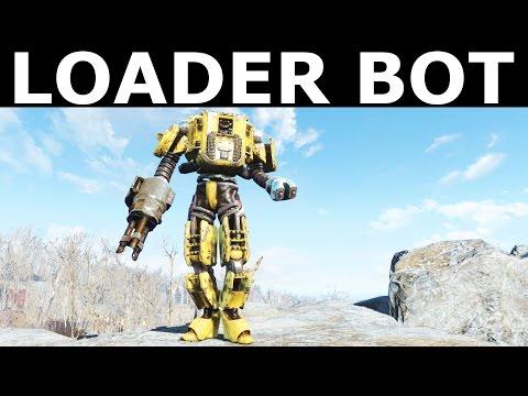 Fallout 4 Automatron - Loader Bot Borderlands Robot (Custom Made Automatron Companion Build)