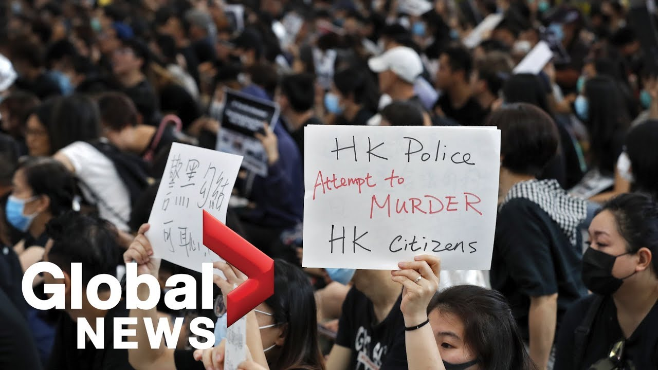 Students in Hong Kong hold 'Power of the People' rally
