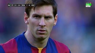 Lionel Messi vs Levante (Home) 14-15 HD 720p (15/02/2015) - English Commentary